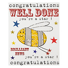 Buy Really Good Well Done Congratulations Card Online at johnlewis.com