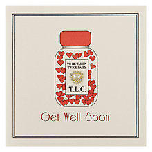 Buy Five Dollar Shake Get Well Card Online at johnlewis.com