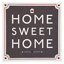 Buy Hotch Potch Home Sweet Home New Home Card Online at johnlewis.com