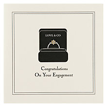 Buy Five Dollar Shake Congratulations on your Engagement Card Online at johnlewis.com