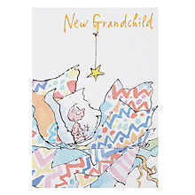 Buy Woodmansterne Unwrapping The Baby New Baby Card Online at johnlewis.com