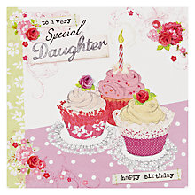 Buy Hotch Potch Special Daughter Birthday Card Online at johnlewis.com