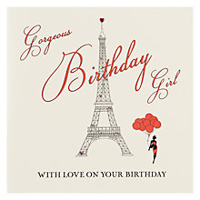 Buy Five Dollar Shake Gorgeous Birthday Card Online at johnlewis.com