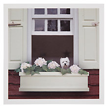 Buy Woodmansterne Westie Flowers Greeting Card Online at johnlewis.com