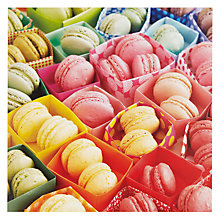 Buy Paper Rose Macaroons Greeting Card Online at johnlewis.com
