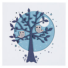 Buy Paperlink Owls Greeting Card Online at johnlewis.com