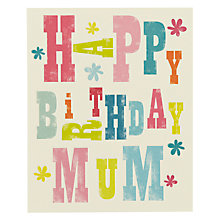 Buy Art File Mum Birthday Card Online at johnlewis.com