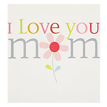 Buy Caroline Gardner Love you Mum Greeting Card Online at johnlewis.com