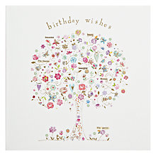 Buy Woodmansterne Dreams Grow Here Birthday Card Online at johnlewis.com