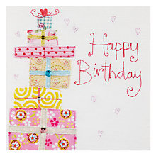 Buy Blue Eyed Sun Presents Birthday Card Online at johnlewis.com