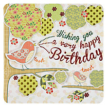 Buy Laura Darrington Very Happy Birthday Card Online at johnlewis.com