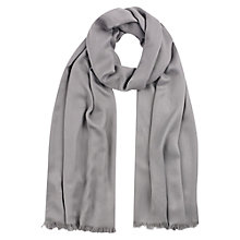 Buy Precis Petite Shimmer Shawl, Grey Dove Online at johnlewis.com