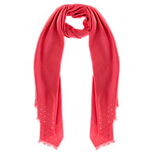 Buy Coast Joplin Sparkle Wrap, Coral Online at johnlewis.com
