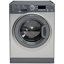 Buy Hotpoint Futura WMUD962G Washing Machine, 9kg Load, A++ Energy Rating, 1600rpm Spin, Graphite Online at johnlewis.com