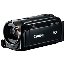 "Buy Canon LEGRIA HF R506 HD 1080p Camcorder, 3.28MP, 32x Optical Zoom, 3"" Touch Screen Online at johnlewis.com"