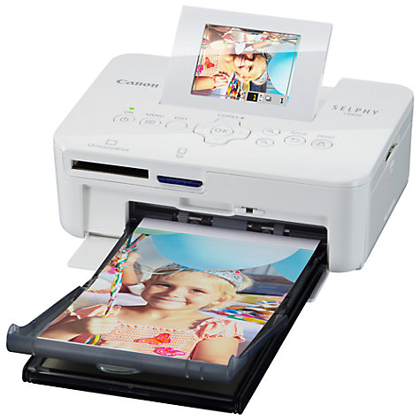 Buy Canon CP820 Selphy Compact Photo Printer Online at johnlewis.com