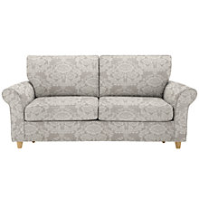 Buy John Lewis Gershwin Large Memory Foam Sofa Bed, Seville Dusty Heather Online at johnlewis.com