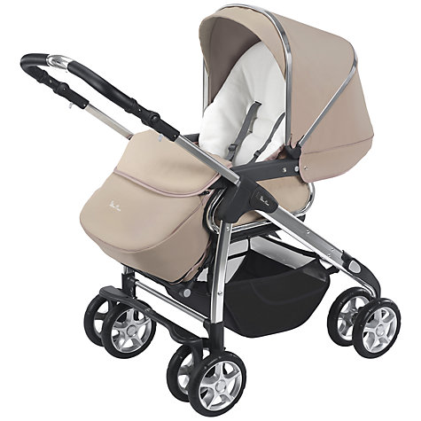 Buy Silver Cross Freeway Pram Body, Sand Online at johnlewis.com