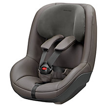 Buy Maxi-Cosi Leather 2wayPearl i-Size Car Seat, Brown Online at johnlewis.com