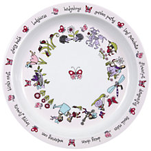 Buy Tyrrell Katz Secret Garden Plate, Multi Online at johnlewis.com