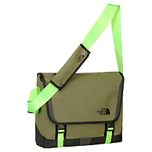 Buy The North Face Base Camp Medium Messenger Bag, Green Online at johnlewis.com