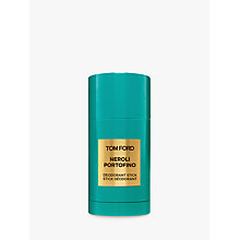 Buy Tom Ford Neroli Portofino Deodorant Stick, 75ml Online at johnlewis.com