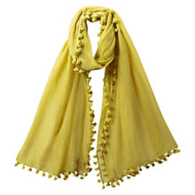 Buy East Super Soft Sheer Scarf, Kiwi Online at johnlewis.com