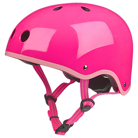 Buy Micro Scooters Helmet, Small, Neon Pink Online at johnlewis.com