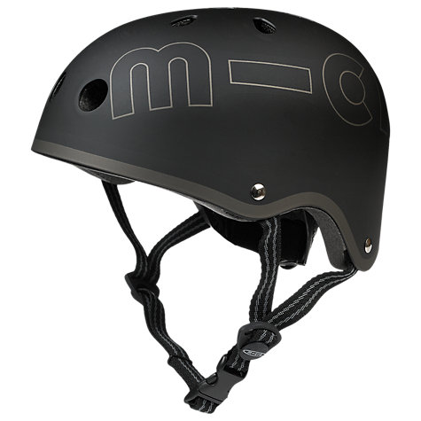 Buy Micro Scooters Helmet, Small, Black Online at johnlewis.com