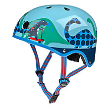 Buy Micro Scooters Scootersaurus Helmet, Medium Online at johnlewis.com
