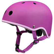 Buy Micro Scooters Safety Helmet, Medium, Raspberry Online at johnlewis.com