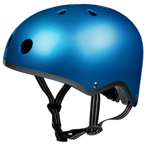 Buy Micro Scooter Safety Helmet, Small, Metallic Blue Online at johnlewis.com