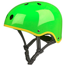 Buy Micro Scooters Safety Helmet, Glossy Green, Medium Online at johnlewis.com