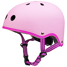 Buy Micro Scooters Safety Helmet, Medium, Light Pink Online at johnlewis.com
