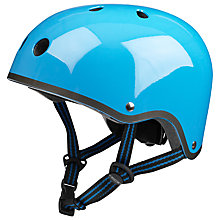Buy Micro Scooters Safety Helmet, Medium, Blue Online at johnlewis.com
