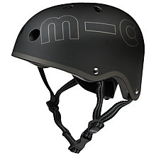 Buy Micro Scooters Safety Helmet, Large, Black Online at johnlewis.com