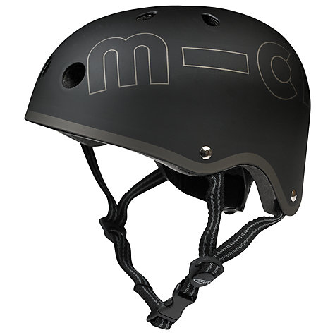 Buy Micro Scooters Safety Helmet, Black, Large Online at johnlewis.com