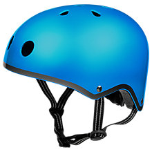 Buy Micro Scooters Safety Helmet, Metallic Dark Blue, Medium Online at johnlewis.com