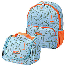Buy Micro Scooters Bag & Lunchbox, Blue Online at johnlewis.com