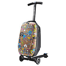 Buy Micro 3-in-1 Luggage Scooter, Steve Aoki Limited Edition Online at johnlewis.com