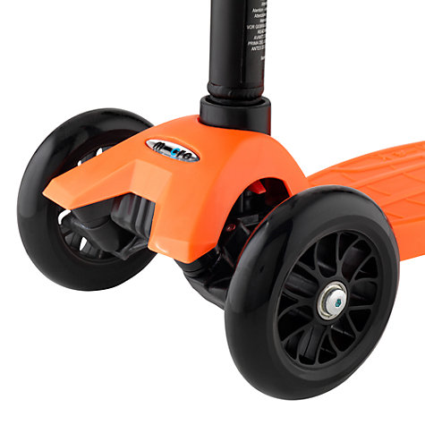 Buy Micro Scooters Maxi Micro Scooter, Orange Online at johnlewis.com