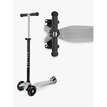 Buy Micro Scooters Maxi Micro Scooter, Silver Online at johnlewis.com