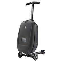 Buy Micro Scooters 3-in-1 Luggage Scooter, Black Online at johnlewis.com