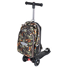 Buy Maxi Micro 4-in-1 Micro Scooter & Rucksack, Orange/Black Online at johnlewis.com