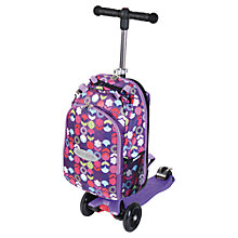 Buy Maxi Micro 4-in-1 Micro Scooter & Rucksack, Purple Online at johnlewis.com