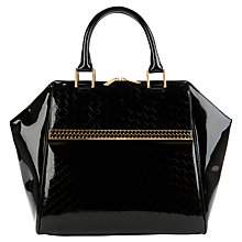 Buy Ted Baker Tahira Large Tote Bag, Black Online at johnlewis.com