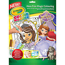Buy Crayola Sofia the First Colour Wonder Colouring Book Online at johnlewis.com