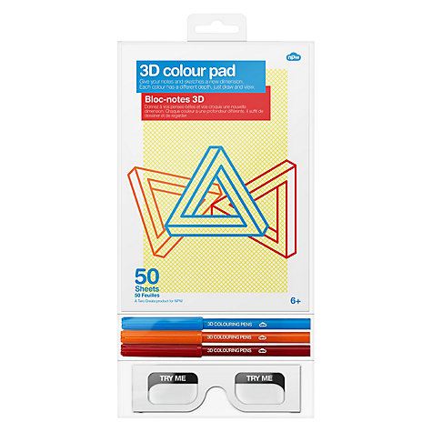 Buy 3D Colour Pad Online at johnlewis.com