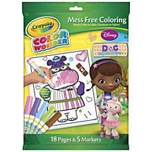 Buy Crayola Doc McStuffins Colour Wonder Set Online at johnlewis.com