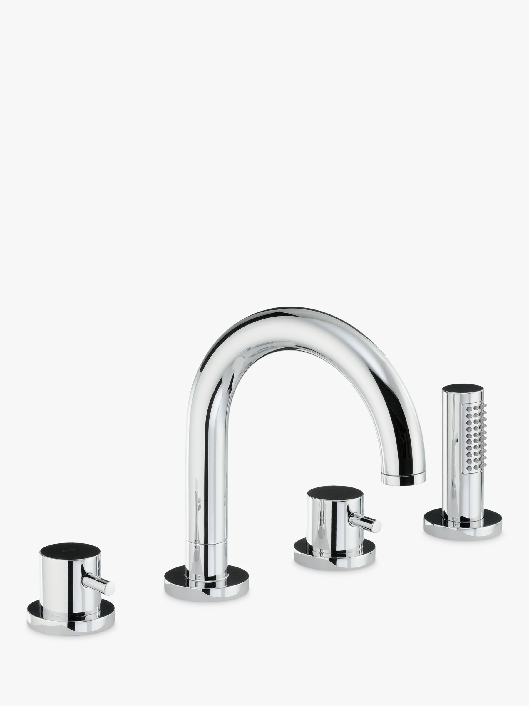 Abode Abode Harmonie Thermostatic Deck Mounted 4 Hole Bath Shower Mixer